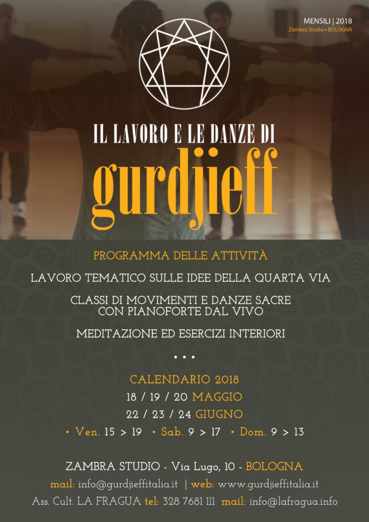 Gurdjieff Bologna - Calendario 2018