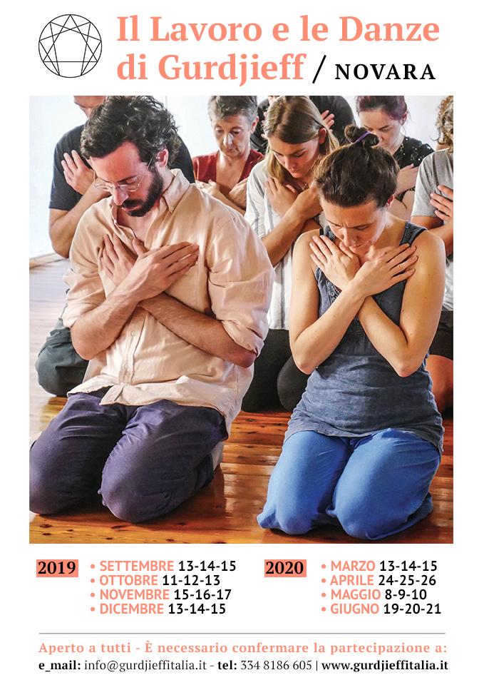 Gurdjieff Novara - Calendario 2019-2020